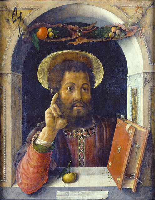 Andrea Mantegna: Saint Mark the Evangelist (1450)