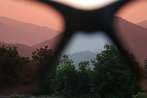 pink camping sunset camp vacation sky holiday mountains nature sunglasses forest nc haze nikon view outdoor dusk northcarolina shades ridge vista 1755mmf28g hazy laborday skyway mountaintop appalachianmountains cherohalaskyway nantahalanationalforest joycekilmermemorialforest robbinsville d80 smokymoutains santeetlahgap rattlerfordcampground cheoahrangerdistrict
