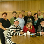 "The LeRoy Public Library Board & The ""Minnesota Crime Wave"" Authors, William ""Kent"" Krueger, Ellen Hart, & Carl Brookins"