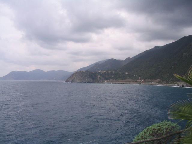 Coast from Manarola