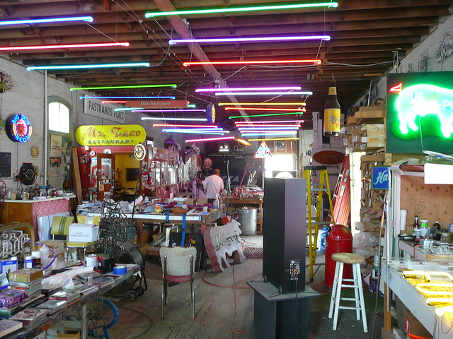 Lockhart, TX Big Dog Neon ~ interior