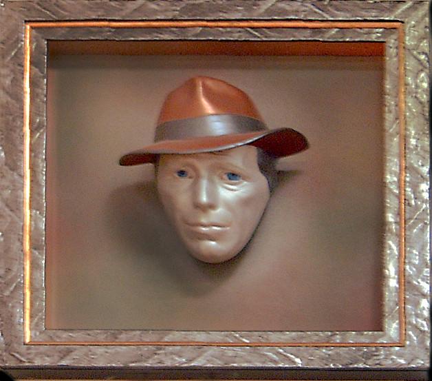 Humphrey bogart death mask