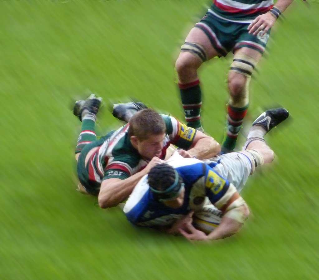 Leicester Tigers Vs Bath Rugby, Welford Road, 23