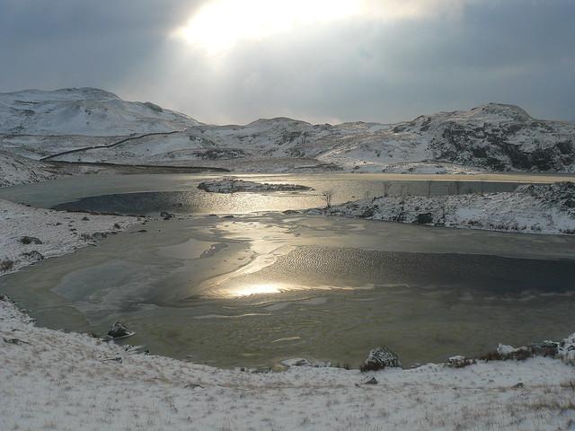 Icy Angle Tarn