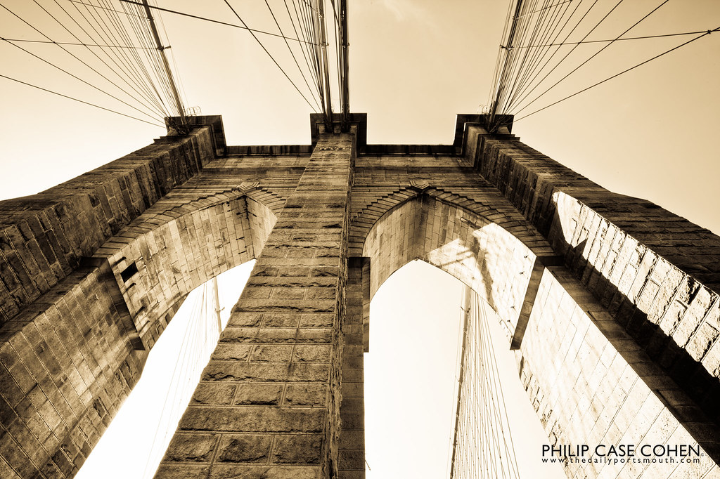 Brooklyn Bridge by Philip Case Cohen