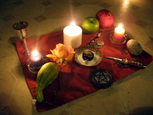 Samhain Altar | by // Denise \