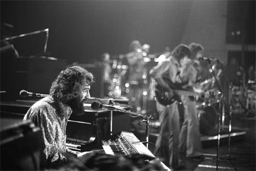 Richard Manuel The Band At The Santa Cruz Civic Auditorium Flickr