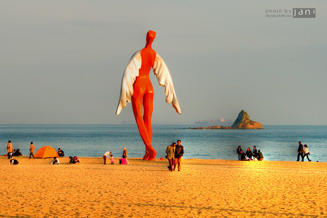 Dameisha beach, Shenzhen, China | Dameisha beach is a popula… | Flickr