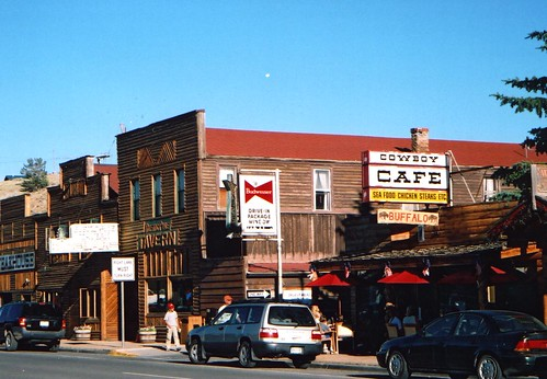 Cowboy Cafe - Dubois - Wyoming - July 2005 | by GeordieMac Pics