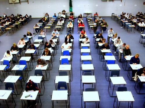 Day 23 - Exam hall   by jackhynes