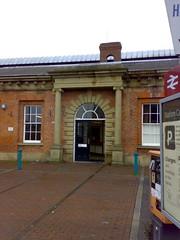 Beverley Station entrance