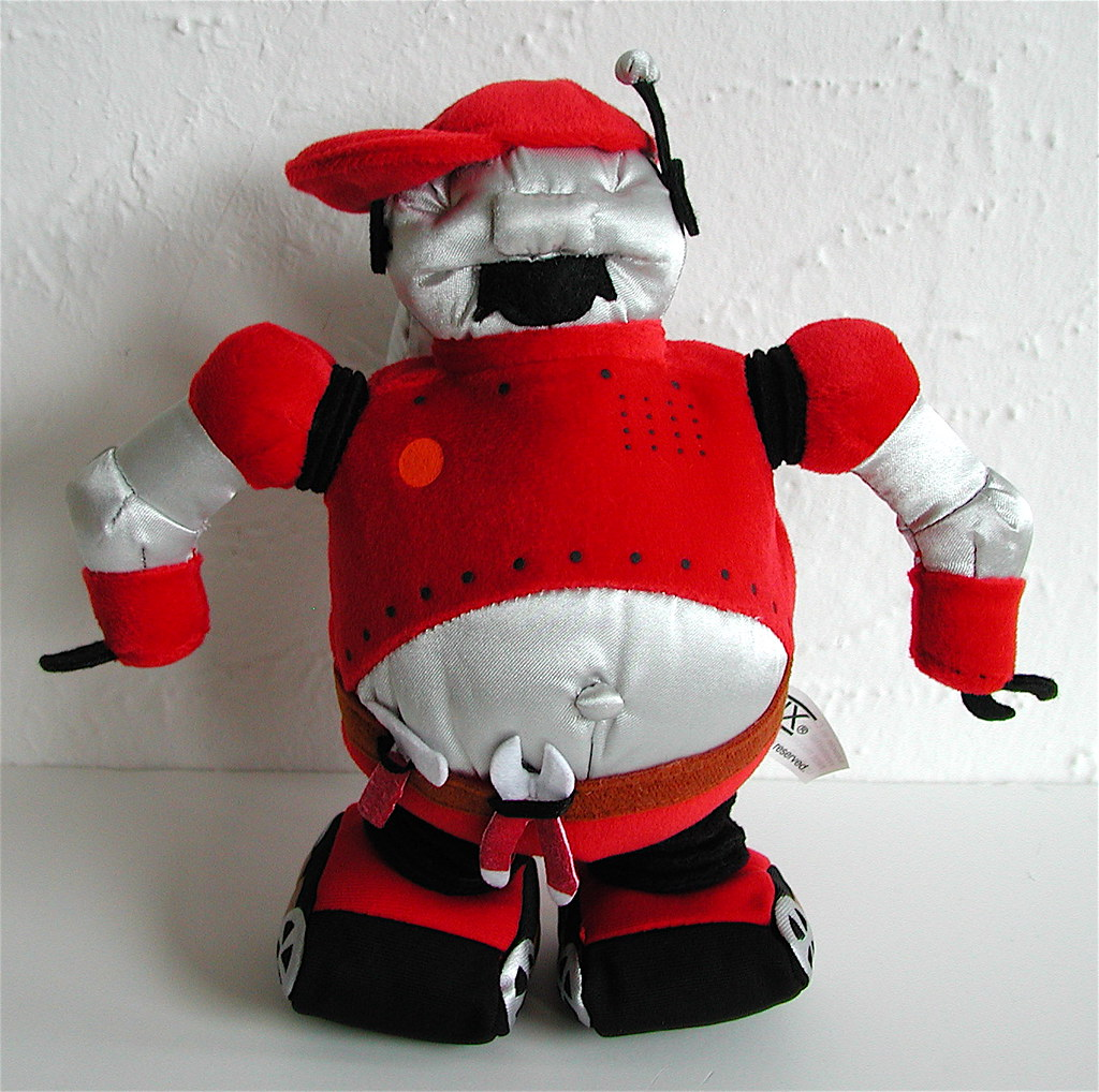 Thx Tex Robot Plush Wsound Jpidgeon Flickr