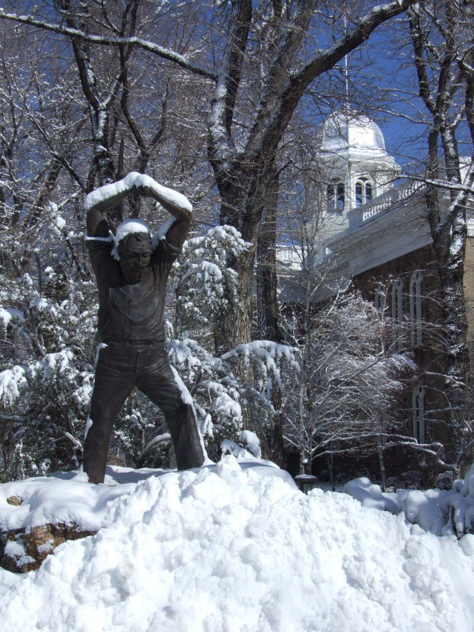 Carson City S Statues Around Carson
