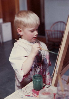 Paul at the Easel
