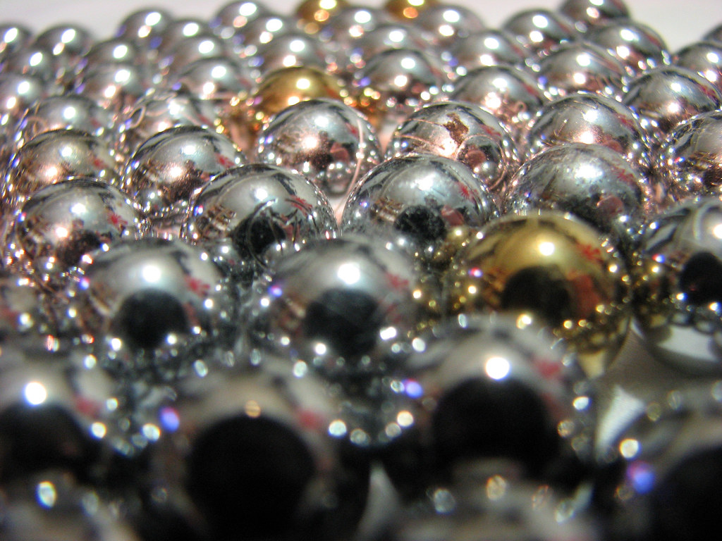 Pachinko balls