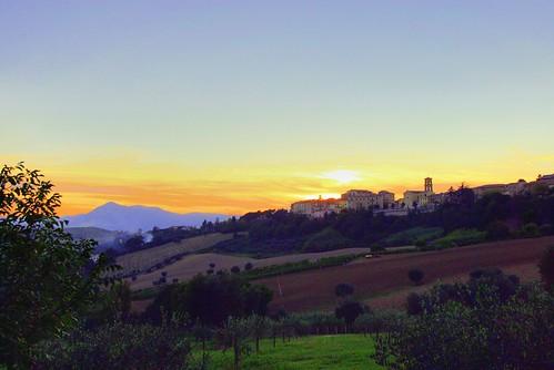sunset tramonto di bec provincia marche jesi colline castelli ancona delle greatphotographers utatafeature nikonstunninggallery maiolati spontini diamondclassphotographer flickrdiamond