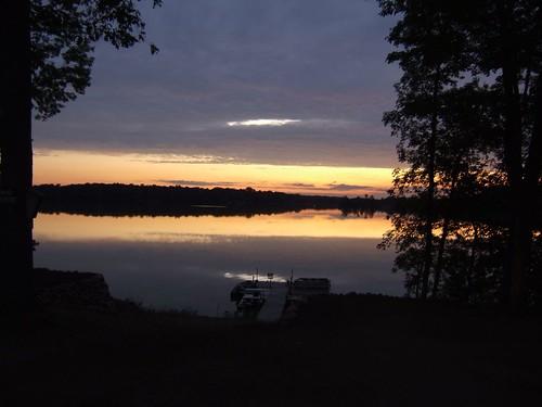 sun lake sunrise rise lakesunrise