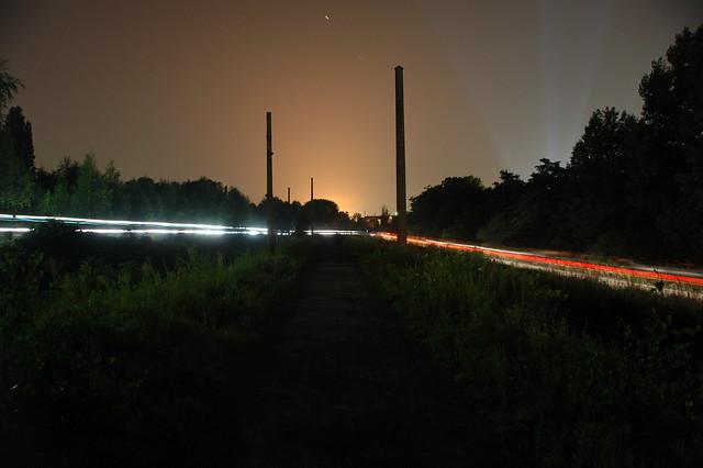 Light of Mountainbikerace