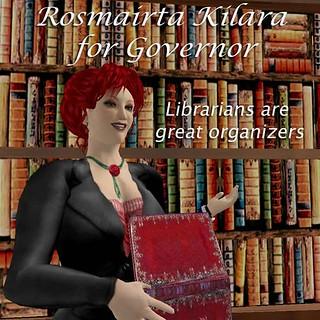 Rosmairta for Governor