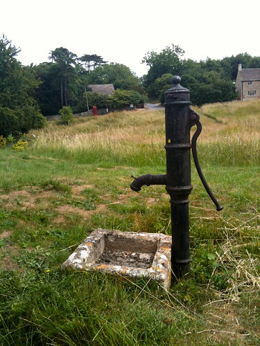 Close up of the village pump at Little Barrington | by Tip Tours