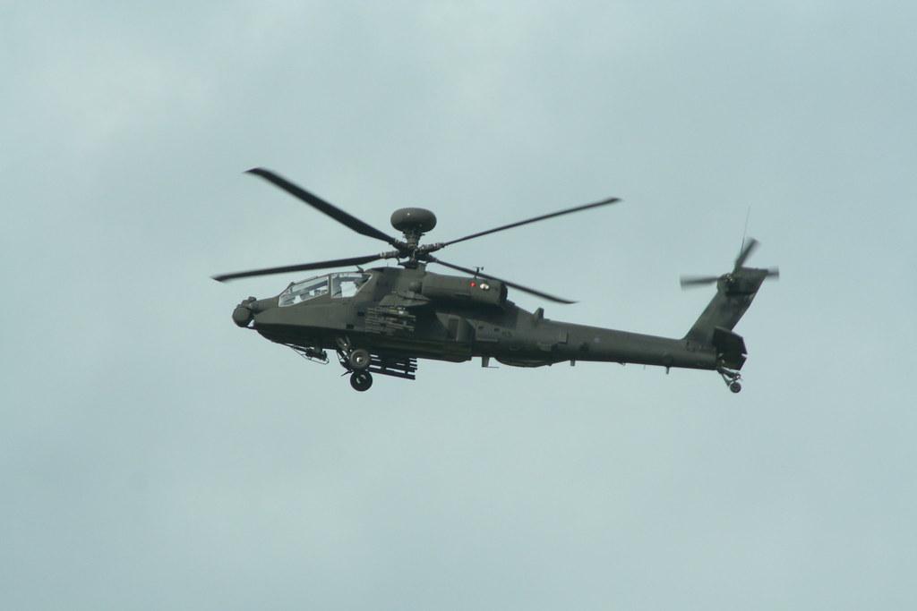 Apache over salisbury plain