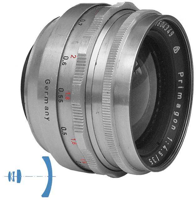 Meyer Primagon 1:4,5/35 mm