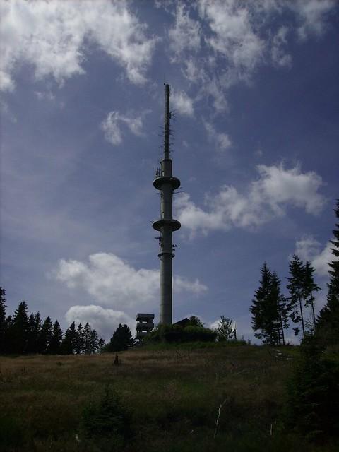 Fernsehturm und Aussichtsturm auf dem Bollerberg