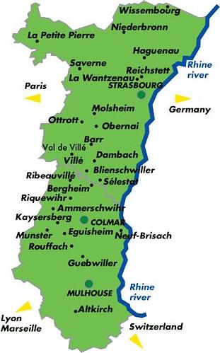 Map Of Kaysersberg France.Alsace Region Map France Alsace Map Rodrigo Js Flickr