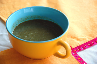 A warm cup of Callaloo Soup... | by Masala Cha