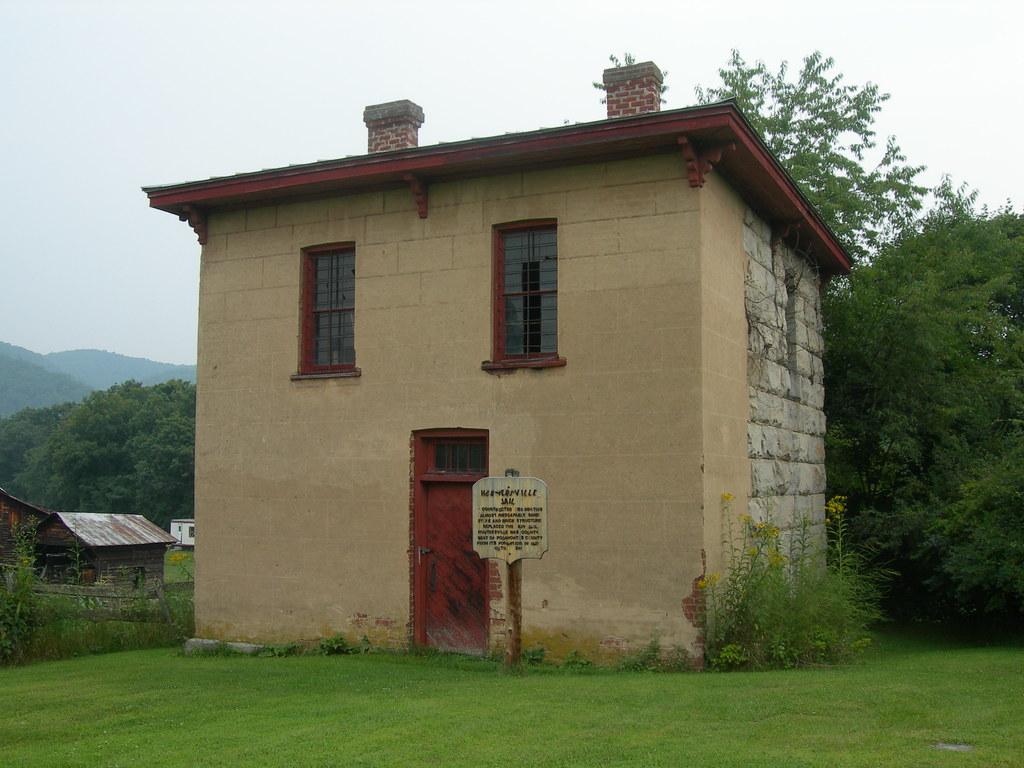 Historic Pocahontas County Jail   Huntersville, WV Construct