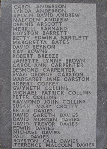 Aberfan Memorial Cross (top)