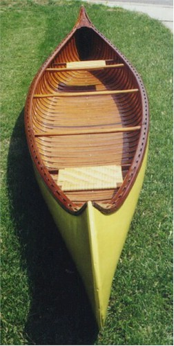 1913 Old Town Canoe - the wooden canoe, is all magic! | Flickr