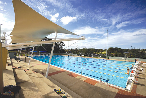 Sports Centre 50 metre Olympic Waveless Swimming Pool
