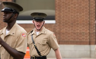 Angry Drill Sergeant | by Joseph Hoetzl