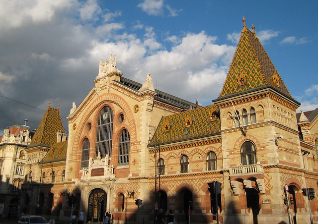 Market hall in Budapest