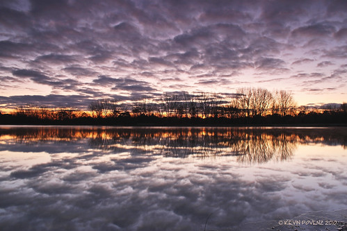 sky cloud reflection tree nature water clouds sunrise landscape photography outdoor michigan scenic westmichigan jenison canont1i