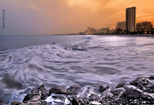 Wintry evening | by khalid almasoud