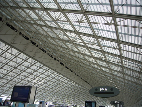 Charles De Gaulle airport ceiling | by Ted Drake