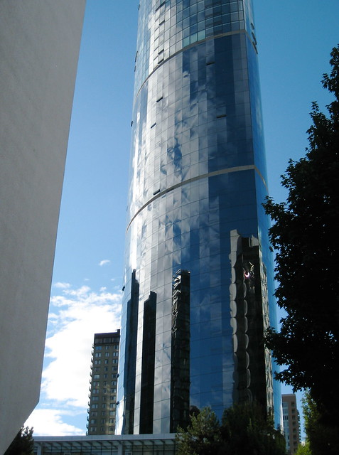 Architectural reflection, Vancouver