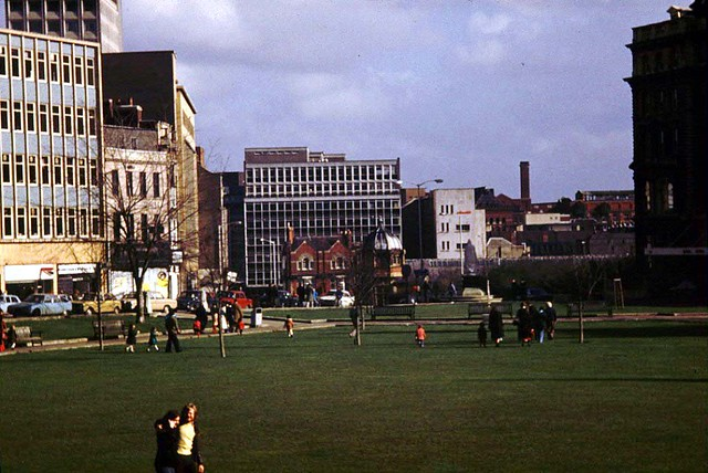 College Green, Bristol 1977