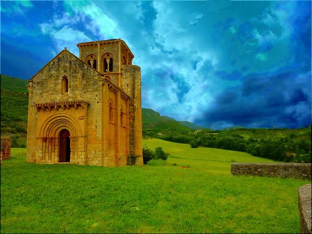 2010 Iglesia románica de San Pedro de Tejada (Burgos) España