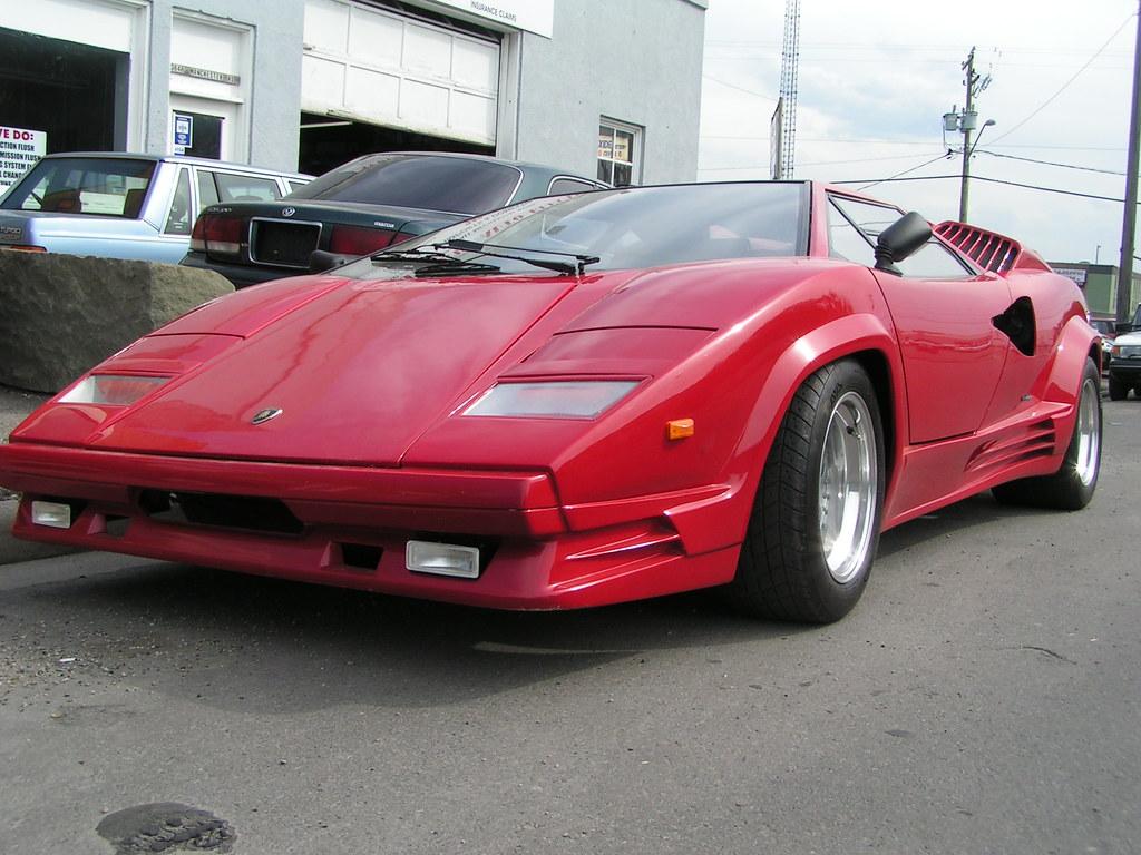 Lamborghini Countach Replica Replica To Look Like A 1989 2 Flickr