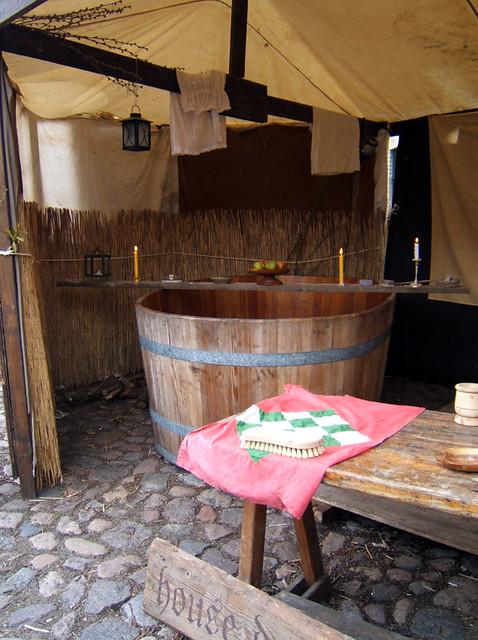 mittelalterliche Badestube