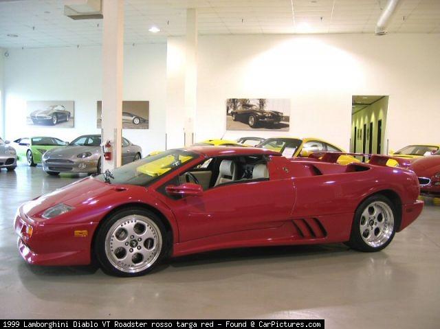1999 Lamborghini Diablo Vt Roadster Rosso Targa Red D 640 Flickr