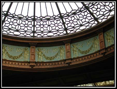 Edinburgh Train Station Ceiling