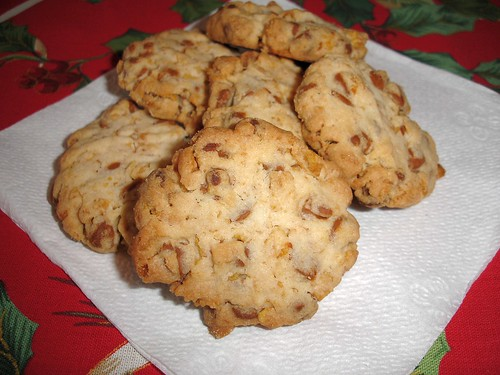 Golden Cinnamon Crunch Cookies