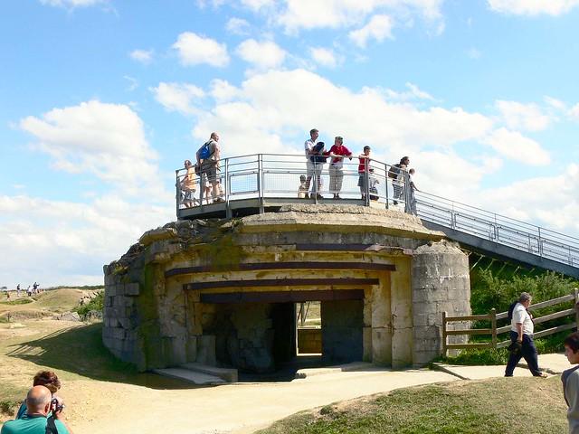 Pointe de Hoc Fortification