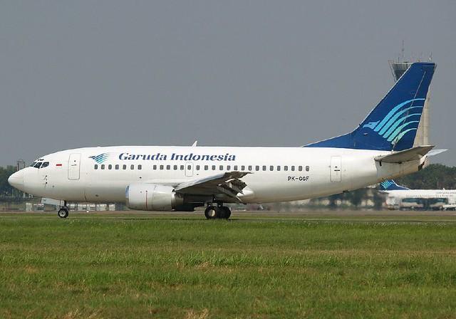 Boeing 737-500 PK-GGF Garuda Indonesia