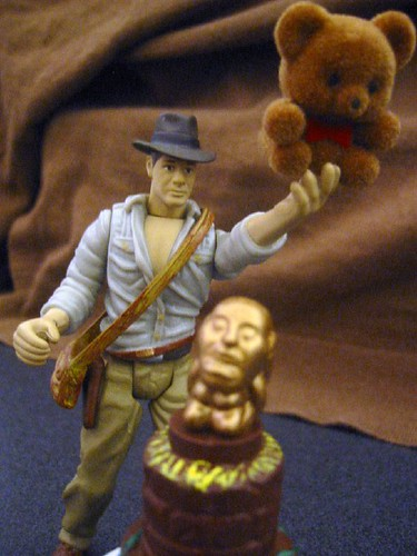 Indiana Jones and Raiders of the Lost Bear | by bonniegrrl