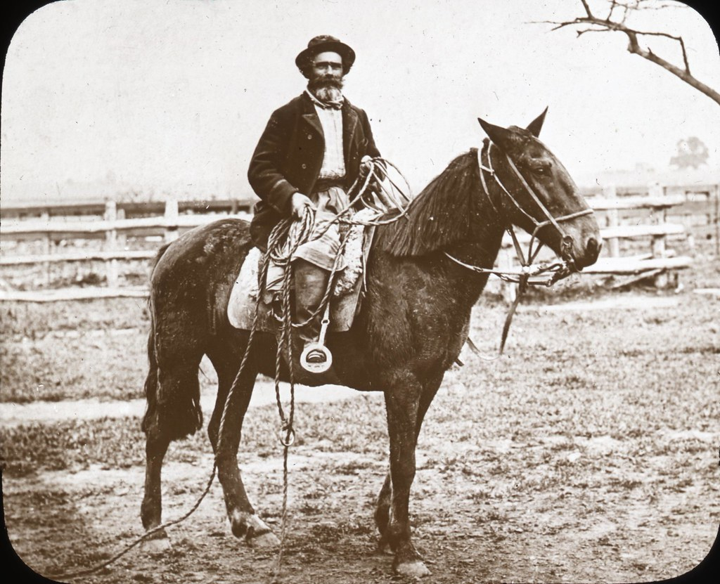 A Gaucho or Cowboy | Image Description from historic lecture